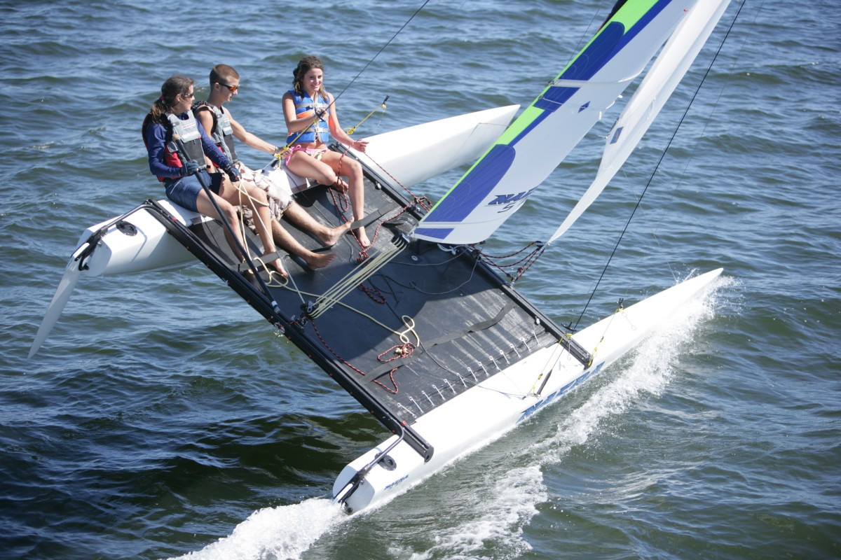Katamaran segeln sport  Katamaransegeln